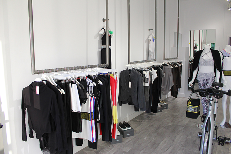 "Out Incorporated in Corona del Mar specializes in ""athleisure"" apparel, a growing style trend in Newport.  (Photo courtesy of Out Incorporated)"