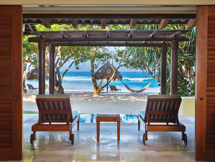 Beachfront casita at Four Seasons Resort Punta Mita