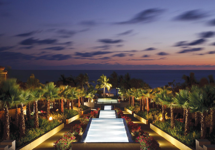 The view from the lobby of The St. Regis Punta Mita Resort