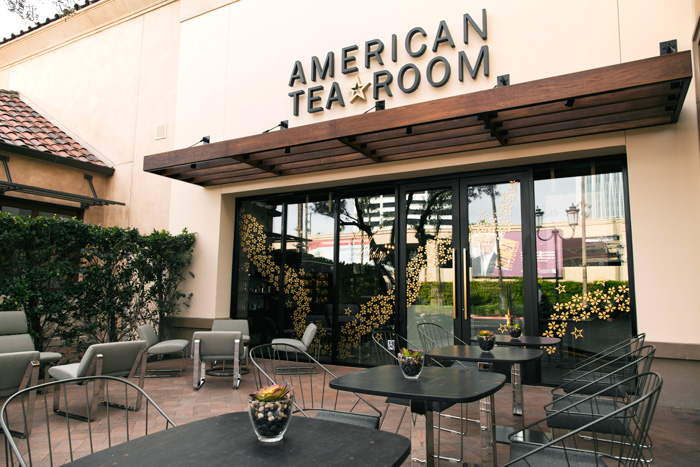 American Tea Room at Fashion Island offers unique varieties of tea to enjoy at the cafe as well as products to make a cup at home. | Photo Courtesy of American Tea Room
