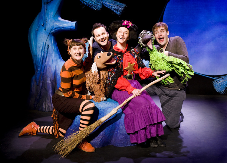 """""""Room on the Broom"""" was the first show in Segerstrom's """"sensory friendly"""" programming. 