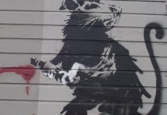Haight Street Rat by Banksy