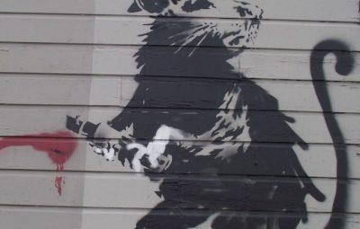 Haight Street Rat by Banksy