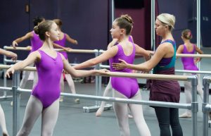 ballet students at SCPA