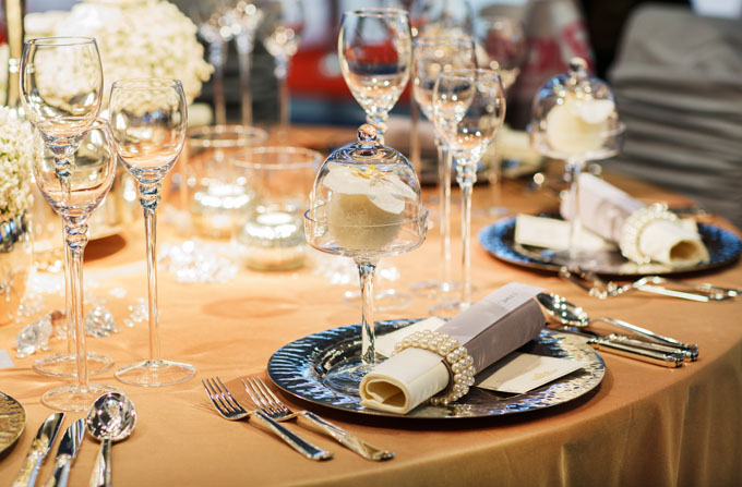 Formal dining courses require specific silverware