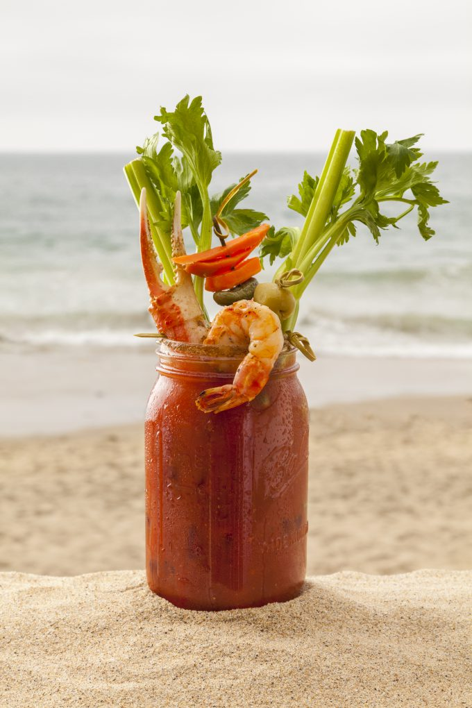 The Beachcomber Cafe's Big Bad Bloody Mary.