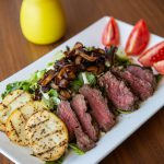 Tommy Bahama filet mignon salad