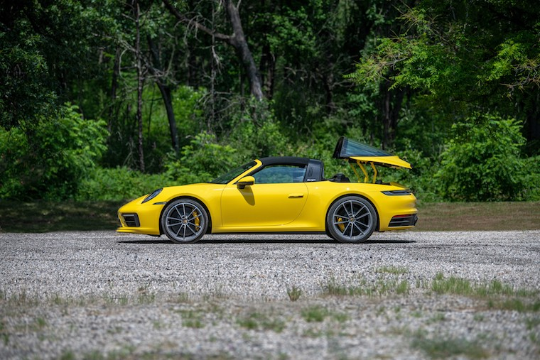 Porsche Targa 4 Retractable Roof_credit Porsche Cars North America