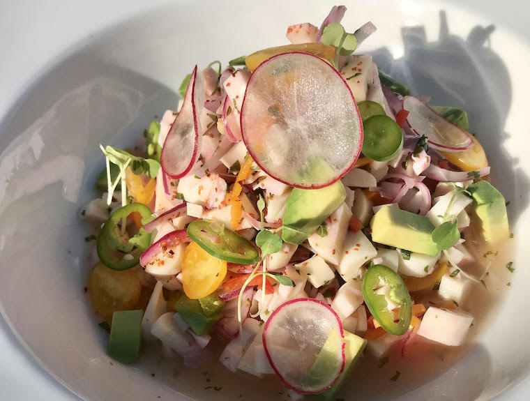 Charred Hearts of Palm Ceviche_by Matt Vaillette