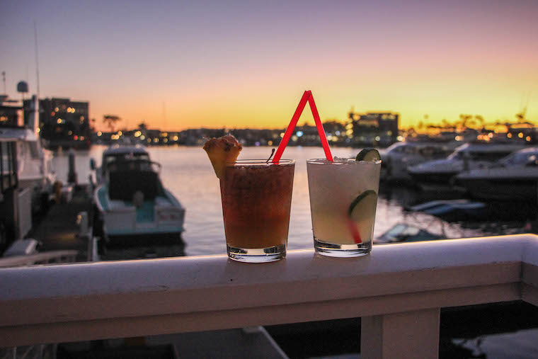 cocktails at Billys at the Beach_credit Ashley Ryan