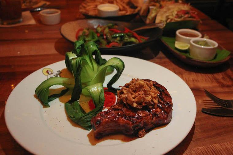 Billy's pork chop_credit Ashley Ryan