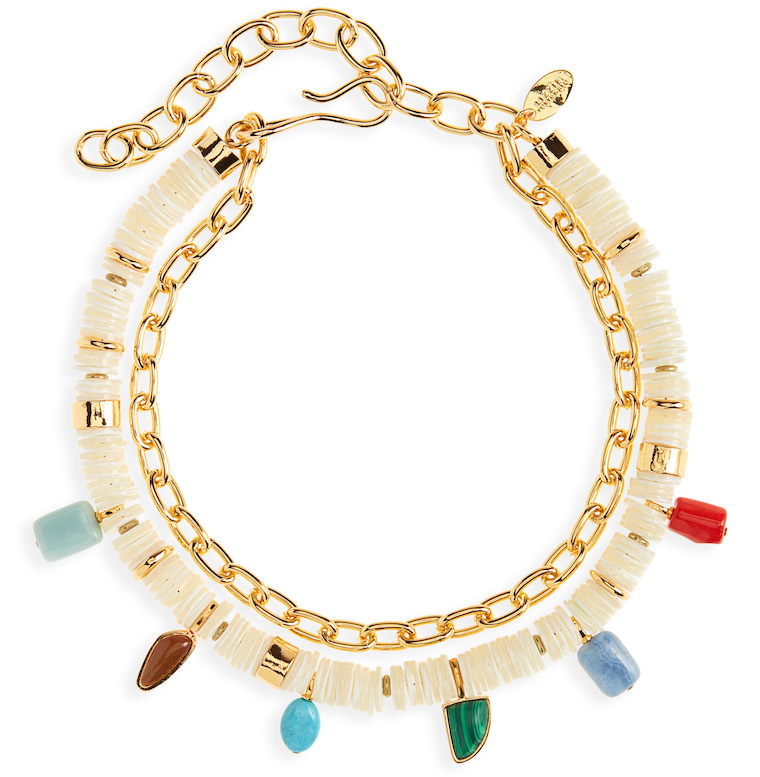 Lizzie Fortunato Form & Color Layered Necklace