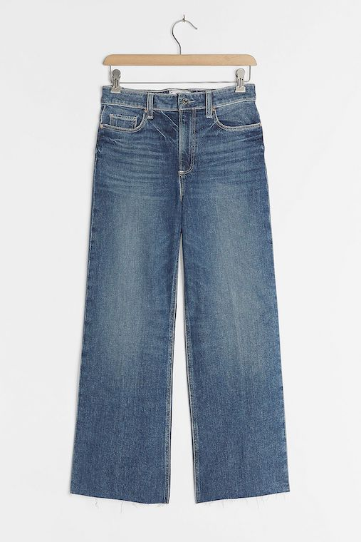 Paige Anessa Ultra High-Rise Wide-Leg Jeans