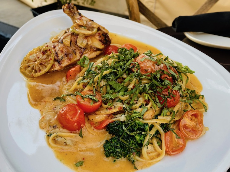 Pasta and Chicken Picante_by CdM Restaurant
