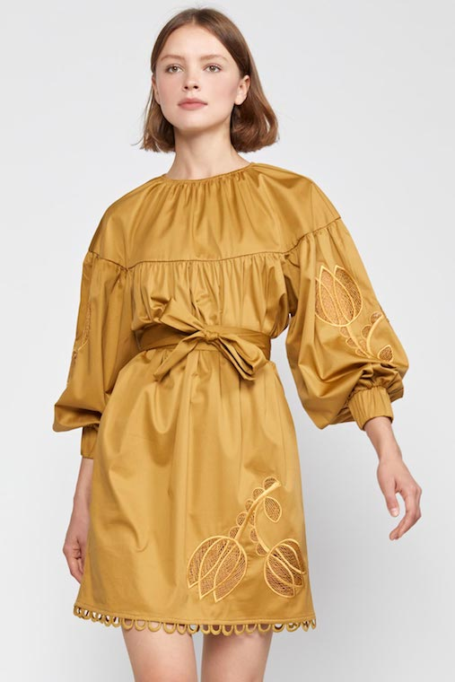 TULIP LACE EMBROIDERED DRESS_credit Cynthia Rowley