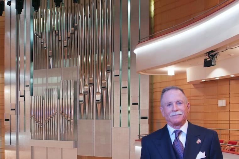 concert organ at SCFTA