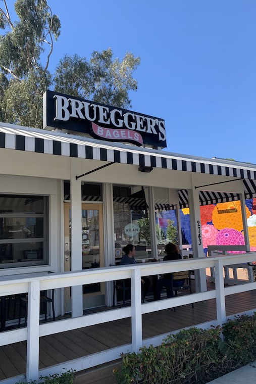 Bruegger's Bagels_credit Catherine Dickinson