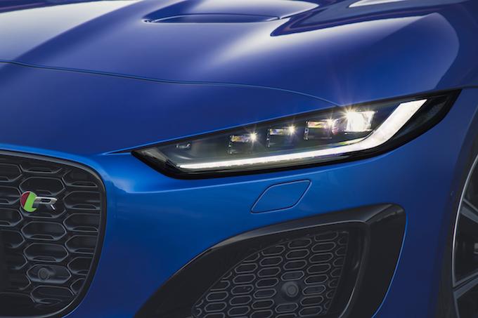 LED headlights_courtesy of Jaguar Land Rover