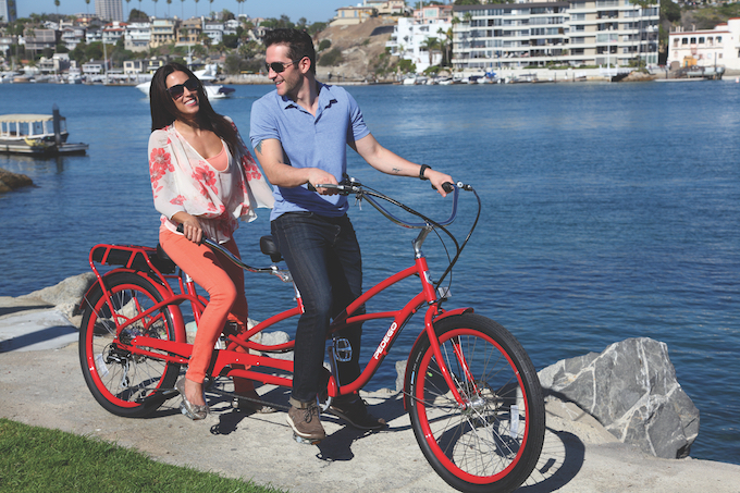 tandem electric bikes-credit Courtesy of Pedego Electric Bikes