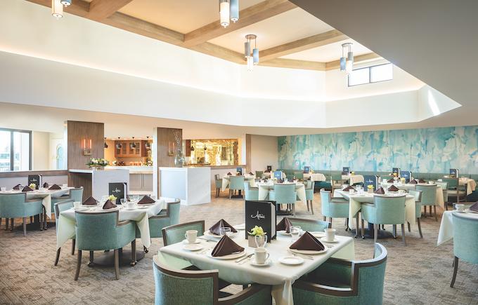 dining at Atria_credit Atria Newport Beach