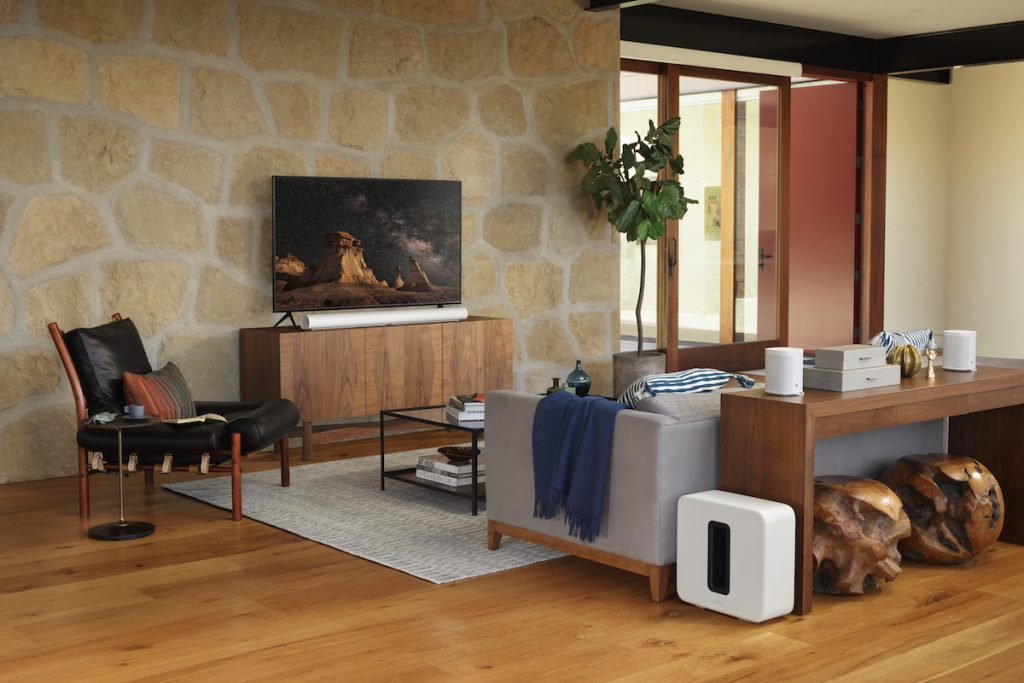 house with Sonos speakers_credit Sonos