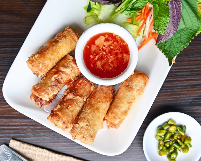 Bamboo Bistro traditional Vietnamese egg rolls_credit Connie Aboubakare