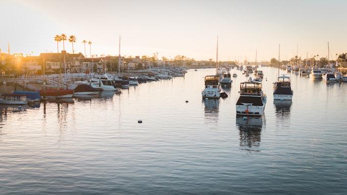 Newport Harbor_credit Christopher Chen/Unsplash